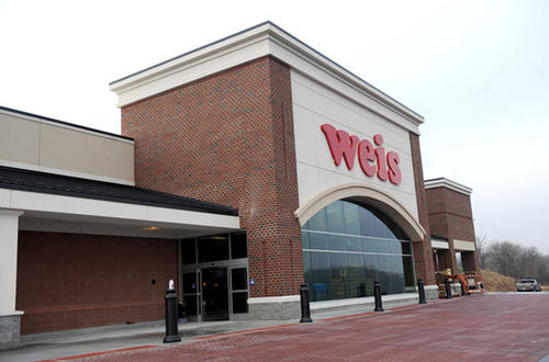 The new Weis Markets store opens on December 9, 2012 on Route 100 in Fogelsville.