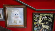 Hotel Lincoln's Wall of Bad Art