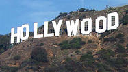 HOLLYWOOD, Calif. -- If there�s anything Tinseltown excels at, it�s turning a ho-hum event into a made-for-TV spectacle. Witness the razzle-dazzle that unfolds each time the Hollywood sign gets a fresh coat of paint.