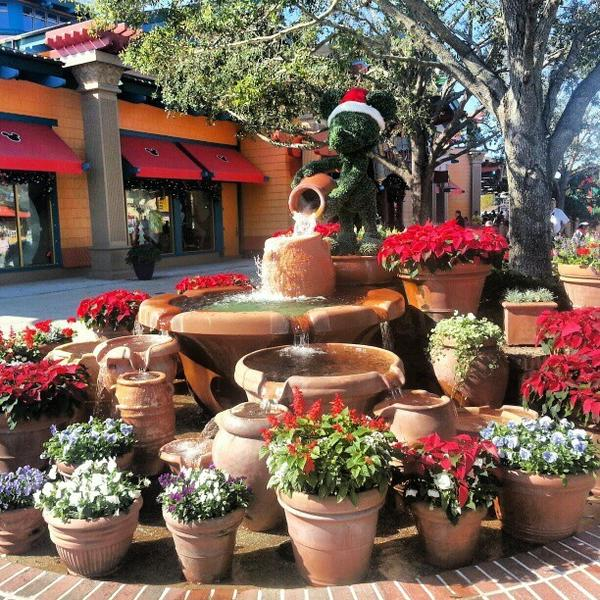 Robert Ashburn (@floridathrills) took this shot of holiday decorations at Downtown Disney Marketplace. <b>#thedailydisney</b>