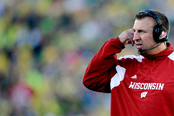 Bret Bielema was 68-24 in seven seasons at Wisconsin.