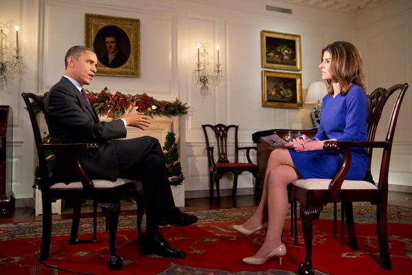 President Obama talks with Bloomberg TV's Julianna Goldman.