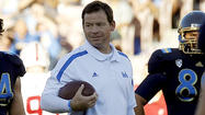 UCLA Coach Jim Mora is one of 10 finalists for the Liberty Mutual Coach of the Year Award.