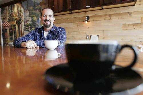 Richard Freeland is the owner of Caffé Caldo in Huntington Beach.