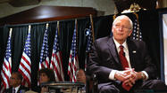 "To his detractors, Vice President Dick Cheney was the dark force of the administration of President George W. Bush. Cheney himself said he was <a href=""http://thehill.com/video/administration/179441-cheney-honored-to-be-compared-with-darth-vader-"">""honored"" at being compared to Darth Vader</a>. Those who blamed him for the second Iraq War liked to call him ""heartless."""