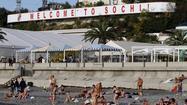 Sochi, Russia, prepares for the 2014 Winter Olympics