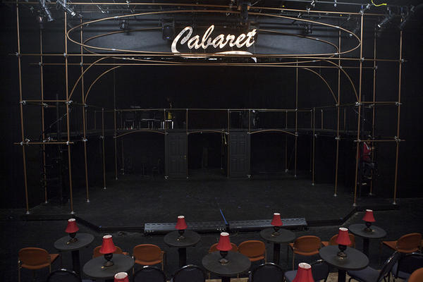 "Even the theater is transformed into a nightclub for Seminole State College's ""Cabaret."""