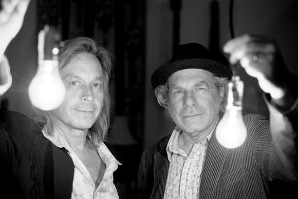 Jim Lauderdale, left, and Buddy Miller