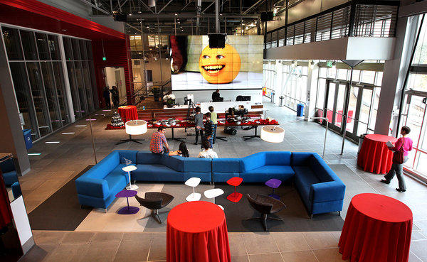 The Otis report findings were presented at YouTube's new digital production facilities in Playa Vista -- underscoring the expected Southern California employment growth in digital media.