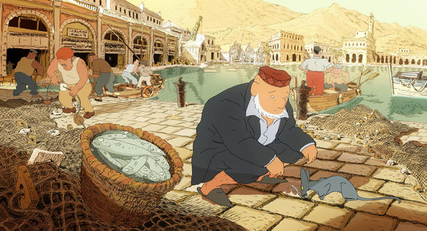 "Adapted from a series of graphic novels by Joann Sfar and co-directed by Sfar and Antoine Delesvaux, this Algiers-set French comedy follows a rabbi whose cat swallows the family parrot — and starts to talk. Told in the style of old-fashioned, hand-drawn animation, the quirky story deals in philosophical themes — the feline reads Stendhal and asks for a bar mitzvah so he can marry the rabbi's daughter. ""The setup is humorous and ingenious,"" Beckman said. ""And it's so beautifully lined, with intricate cross-hatching."" Release date: Jan. 18."