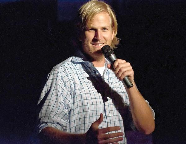 Mark Schumacher, winner of Orange County's Funniest Person Contest.