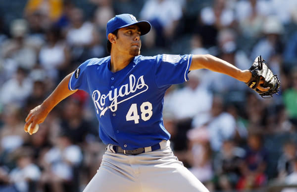 The former Kansas City Royals closer agreed to an $8 million, two-year contract with the Texas Rangers.
