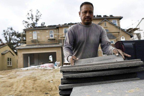 The housing market has rebounded this year as more people compete to buy fewer homes. Above, a home under construction in Rancho Cucamonga.