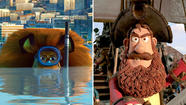 Pirates and animals made it a big year for animated films