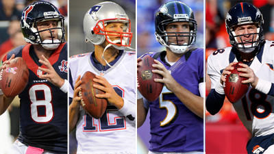 Battle for the AFC's byes appears to be a four-team race