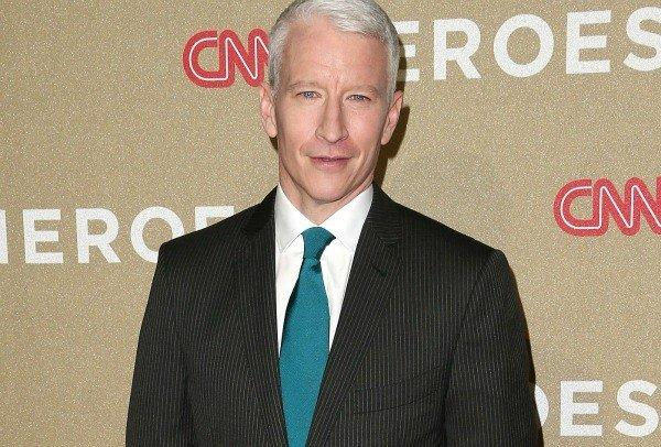 Anderson Cooper admits to strange malady while covering a story in Portugal: a 36-hour spell of blindness.