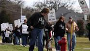 Teachers in Community Unit District 300 reached a deal with the school board late Tuesday to end a one-day walkout in the large far northwest suburban school district.