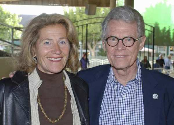 Rose Nielsen, left and her husband, Ken Nielsen, in 2009. The former senior director of development at Woodbury University claims she was fired after reporting mistreatment of other employees.