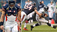 The Bears have to brace themselves for the possibility of Brian Urlacher missing at least the rest of the regular season.