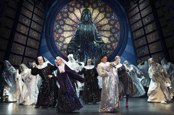 "The cast of ""Sister Act"" makes a joyful noise in the show's finale."
