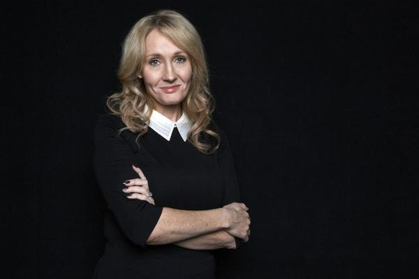 "The author J.K. Rowling at an appearance to promote her latest book ""The Casual Vacancy, "" at The David H. Koch Theater in New York."