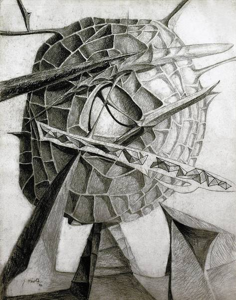 """Drawing Surrealism"" includes Jacques Herold's ""Crystallized Head."""