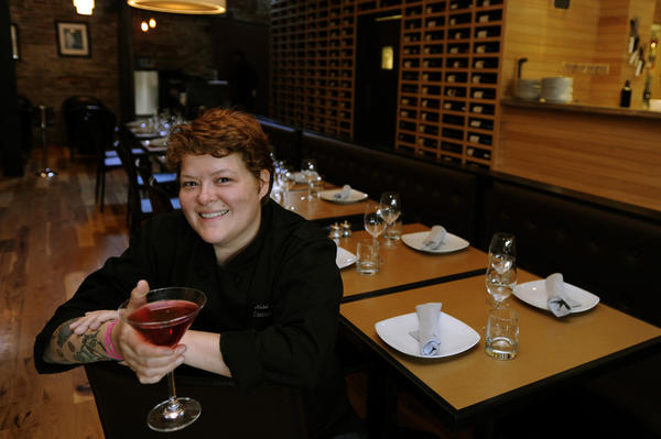 Jesse Sandlin is shown in a June 2010 photograph at Vino Rosina.