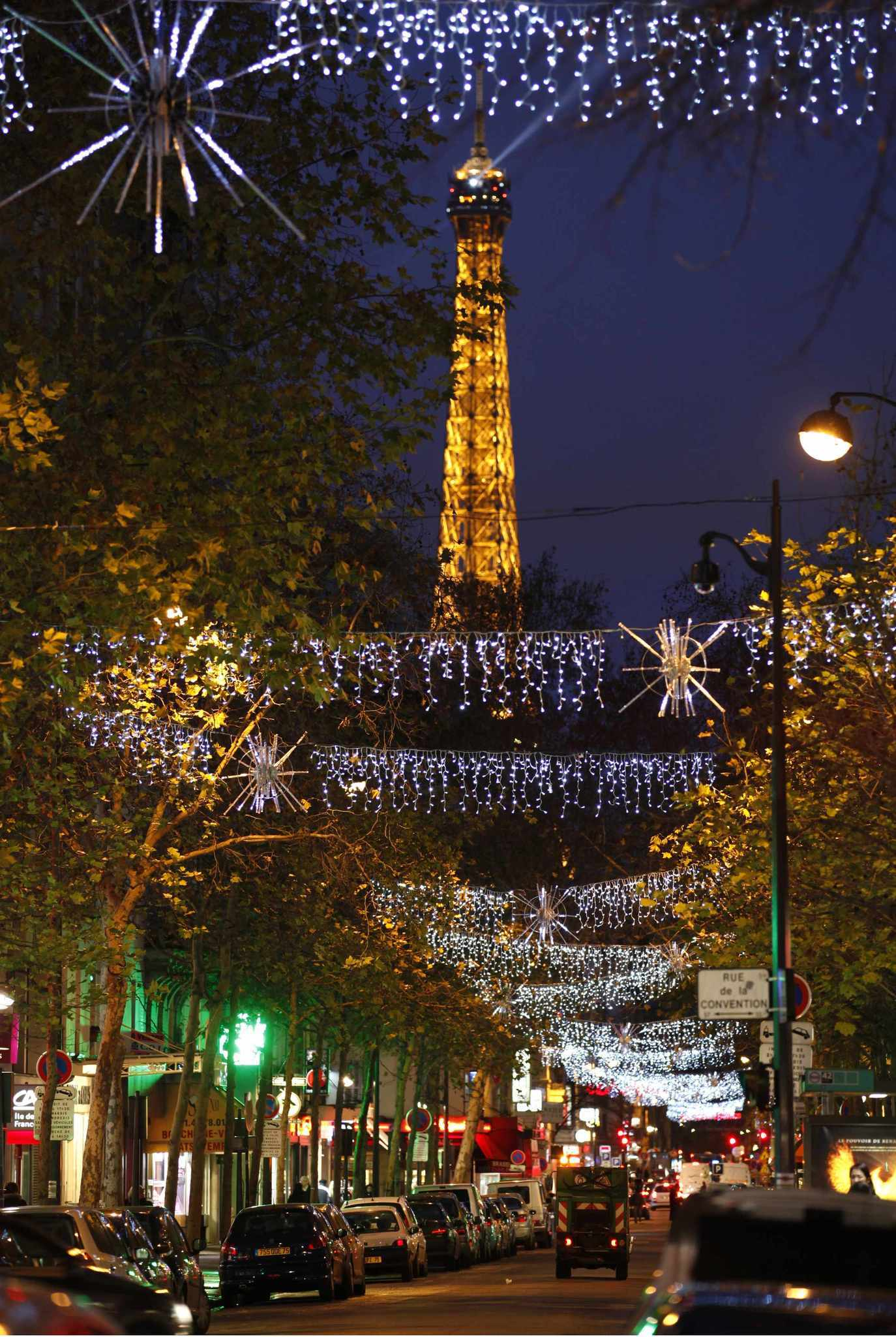Pictures: Holiday lights from around the globe - Christmas in Paris