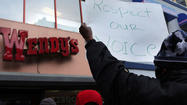 Fast food workers in New York demand better pay