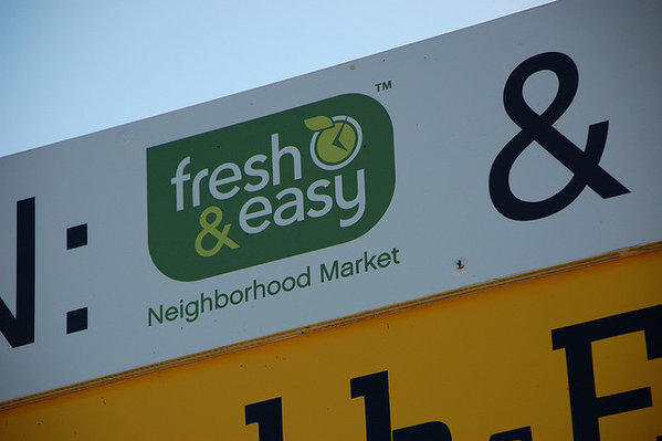 The Fresh & Easy grocery chain may be sold off by British supermarket giant Tesco.