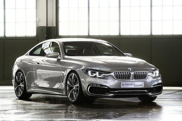 The BMW 4 Series Coupe, shown here in concept form, is based on the 3 Series sedan and will go on sale in 2013.