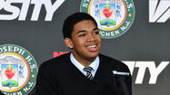 As expected, not only did 7-0 Karl Towns Jr. of New Jersey announce Tuesday  he will play his college basketball at the University of Kentucky. But he also confirmed he will reclassify from the 2015 recruiting class to the 2014 class.