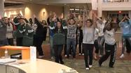 College of DuPage student flash mob dance goes viral