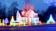Holiday lights in North Laurel [Pictures]