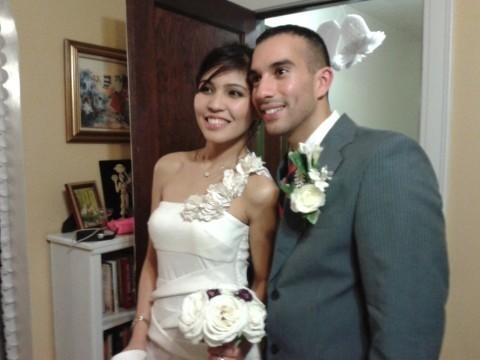 Hajer Serag Eldin Shahin and Nick Arriaga are scheduled to have a formal wedding on Dec. 23 in a church in Manila.