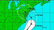 No hurricane warning was issued in the Northeast for Hurricane Sandy.