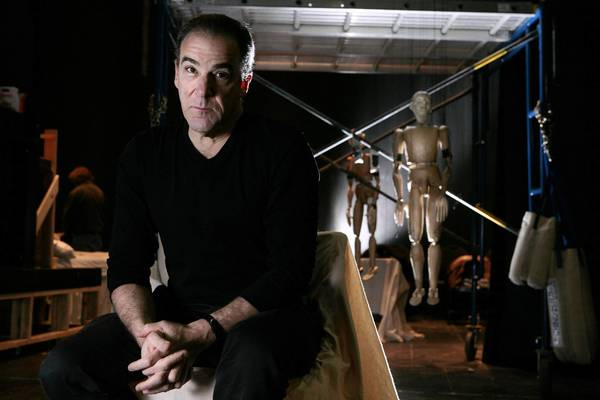 Actor Mandy Patinkin performs in concert Dec. 8 at the Warner Theatre in Torrington.