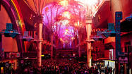 Fremont Street on New Year's Eve