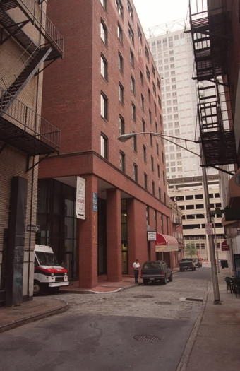 117 Water St., the red brick building, is to be converted to apartments.