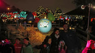 Lights at Brookfield and Lincoln Park zoos