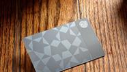 Starbucks' Metal Card