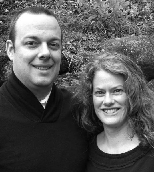 Brian (left) and Carissa Mullaney operate studioMI, a new design studio in Charlevoix.