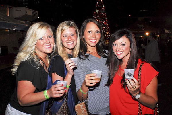 A group of friends enjoy some cool brews at City Link's BeerFest last year. This year's event will take place Dec. 7 from 6 to 11 p.m. in Fort Lauderdale. A portion of the proceeds this year will benefit Trash to Treasure, a nonprofit organization that collects clean, reusable materials and redistributes them.