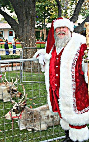 Santa and his reindeer are scheduled to make an appearance at the Malibu Country Mart.