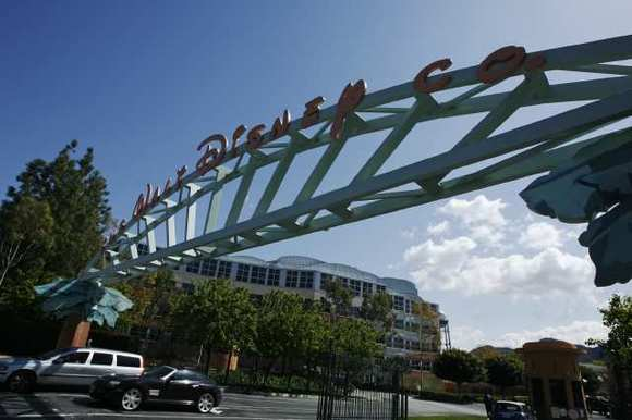 The Disney studio campus in Burbank.