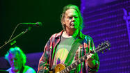 "Neil Young and Crazy Horse rolled into Bridgeport's Webster Bank Arena (a.k.a. the Arena at Harbor Yard) like a freight train last night for the second to last date of a tour that began in early October, and as such they were in well-rehearsed, top form. Young's voice sounded as good as you would hope for it to sound — delicate and shaky, emotive, yet hard-hitting when it needed to be.  And his pitch was right on throughout.  He's 67, but he still sounds like Neil fucking Young, and we got chills when that voice pushed out ""Cinnamon Girl"" just as effectively as it did in 1969. Crazy Horse is Young's most out-there, feedback-friendly, jammy, slop-rock band, and he utilized its psychedelic abilities to their maximum potential with plenty of extended stoner jams and stomp box freakouts."