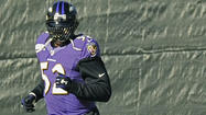 Ray Lewis returned to practice today, eligible to return for Broncos game