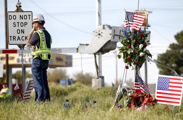 The NTSB is continuing its investigation into the train accident that killed four veterans during a parade last month in Midland, Texas.