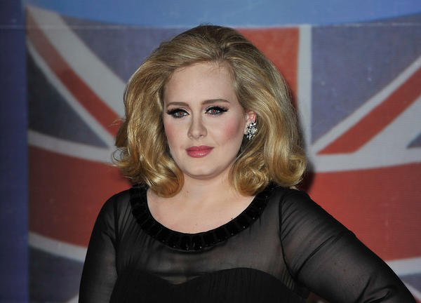Adele gave birth to a boy on Oct. 19 with boyfriend Simon Konecki.