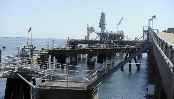LNG import terminal at Cove Point mostly idle these days